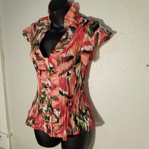 Sunny Leigh Small Top Pink Floral